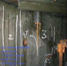 Повреждения металла,абсорбер 3У272С01 (2007 год)