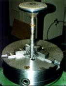 Клапан двигателя внутреннего сгорания после наплавки